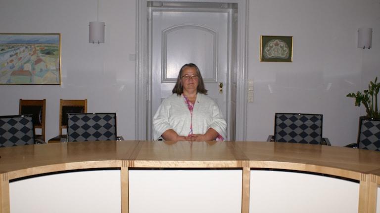 Mona Olsson, oppositionsråd för Vänsterpartiet i Norrköping.