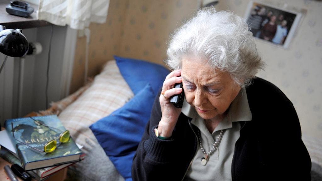 Telefonbedrägeri.