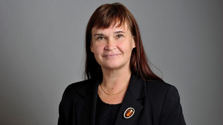 Riksdagsledamot Annika Lillemets (MP) från Linköping.