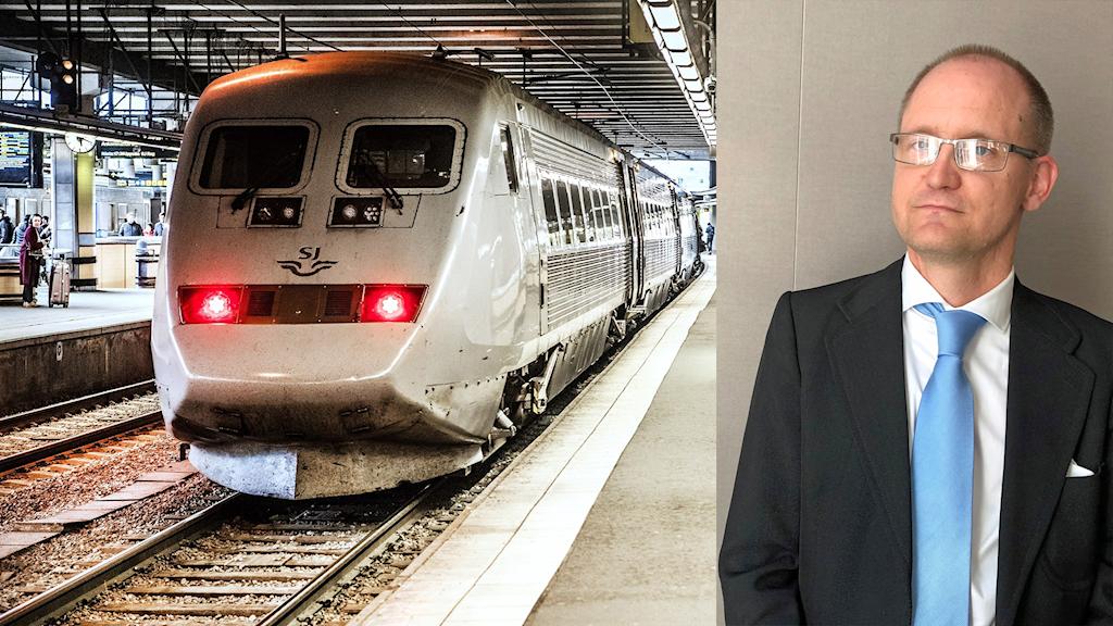 Anders Peterson, biträdande professor i trafiksystem vid Linköpings universitet.