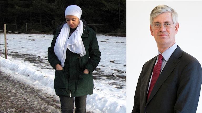 Ikram väntar på besked om hon får stanna i Sverige. Enligt lagman  Anders Hagsgård är hon inte ensam. rekordmånga väntar på besked.