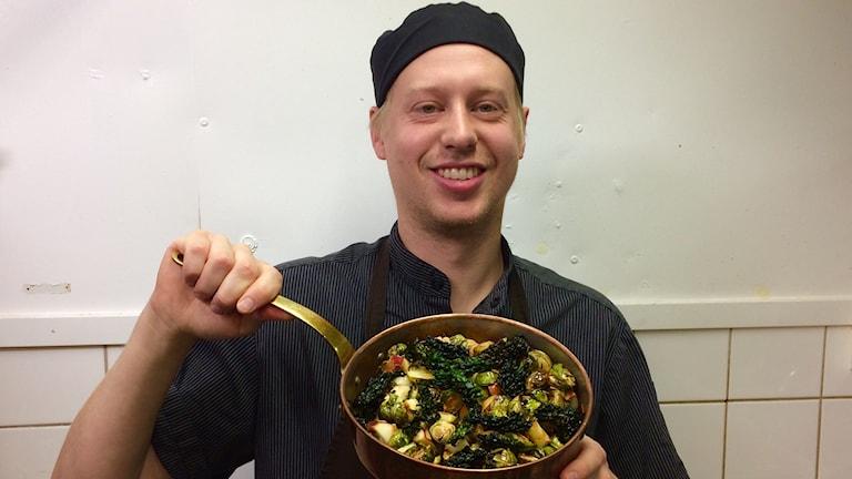 Jonas Alvin tävla i Årets kock.