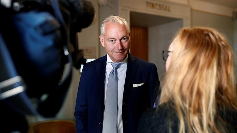 Mats Höggrens advokat Johan Eriksson är besviken över dagens dom.