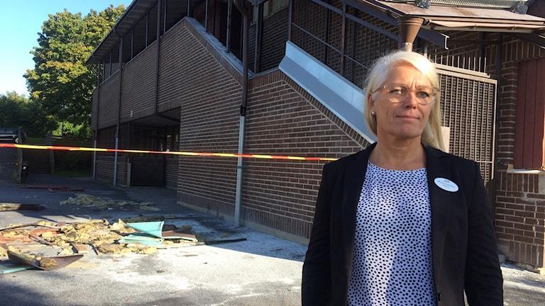 Rektor Marika Andersson