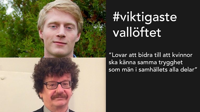 Magnus Ek (C) och Lars Stjernkvist (S) är två av politikerna som skrivit på uppropet.
