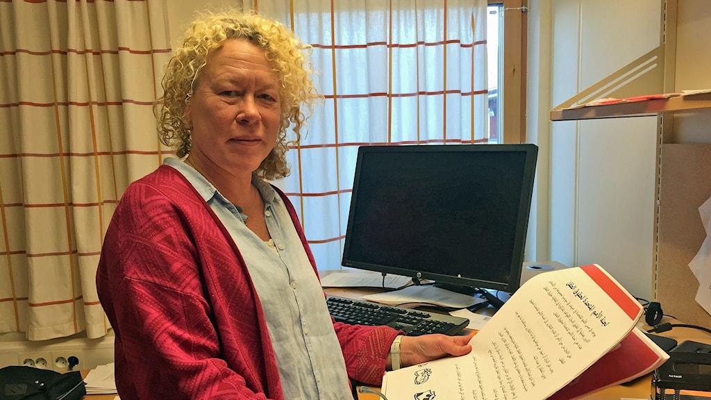 Åsa Larsson, kursansvarig för snabbspåret för lärare på Linköpings universitet.