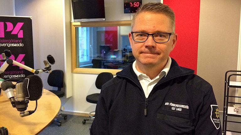 Ulf Lago, biträdande förbundsdirektör Räddningstjänsten Östra Götaland.