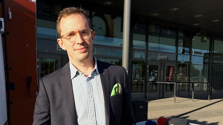 Christian Gustavsson (M), kommunalråd i Linköping.