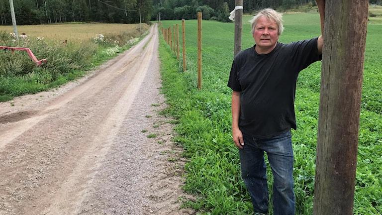 Göran Nilsson, lantbrukare, Hycklinge.