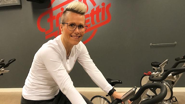 Anna Östh projektansvarig Spin of Hope Friskis och Svettis Norrköping