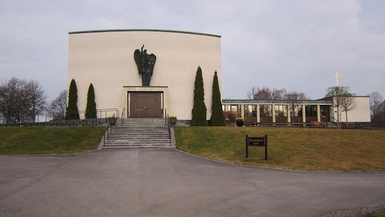 Krematoriet i Norrköping.