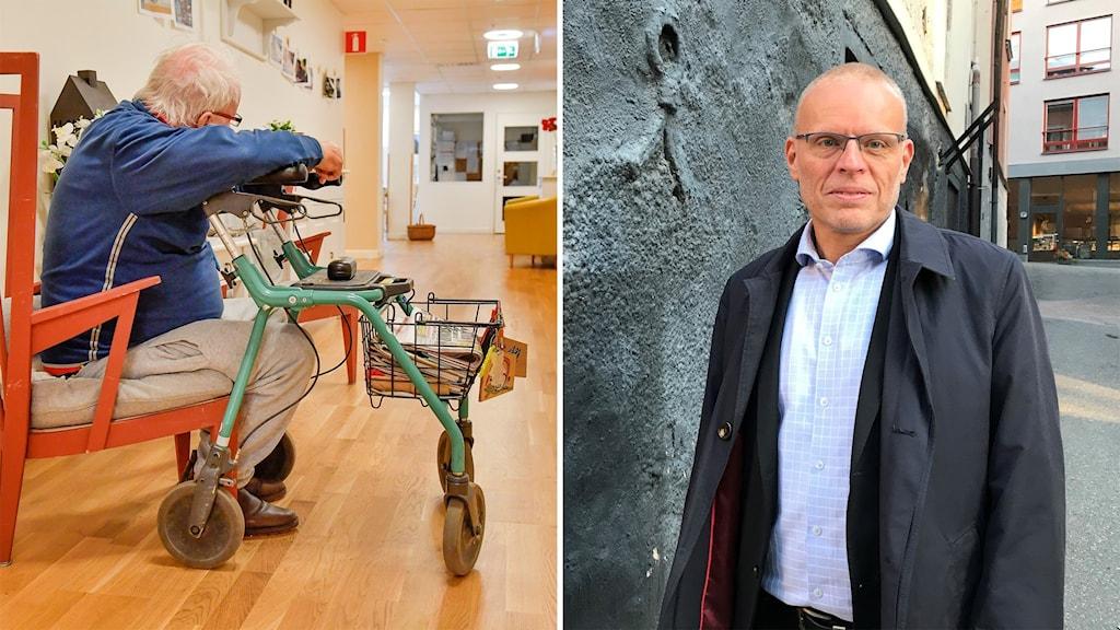Magnus Johansson, vård- och omsorgsdirektör i Norrköpings kommun.