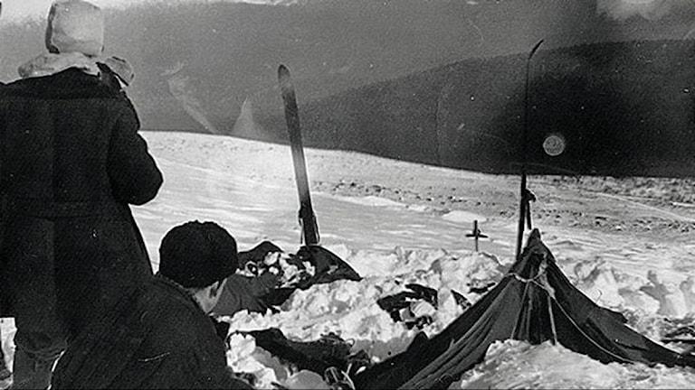 Platsen för olyckan i Uralbergen för snart 60 år sedan.