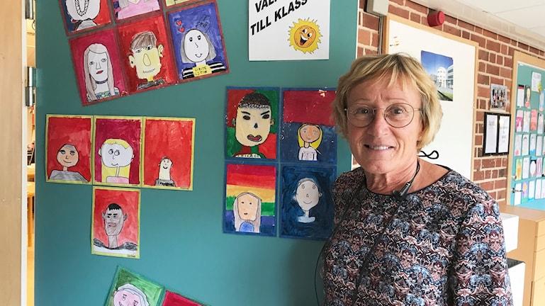 Margareth Djerf, lärare på Storängsskolan.