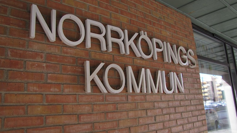 Skylt Norrköpings kommun