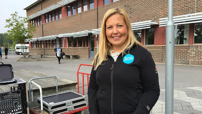 Johanna Flodin Karlsson, rektor Ektorpsskolan