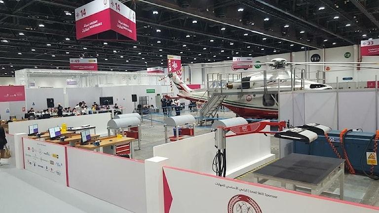 Yrkes-VM i Abu Dhabi 2017.