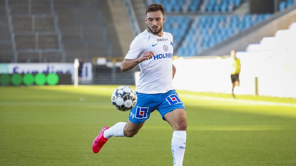 Norrköpings Sead Haksabanovic