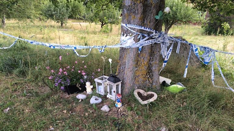 Ett år efter dubbelmordet i Mantorp.
