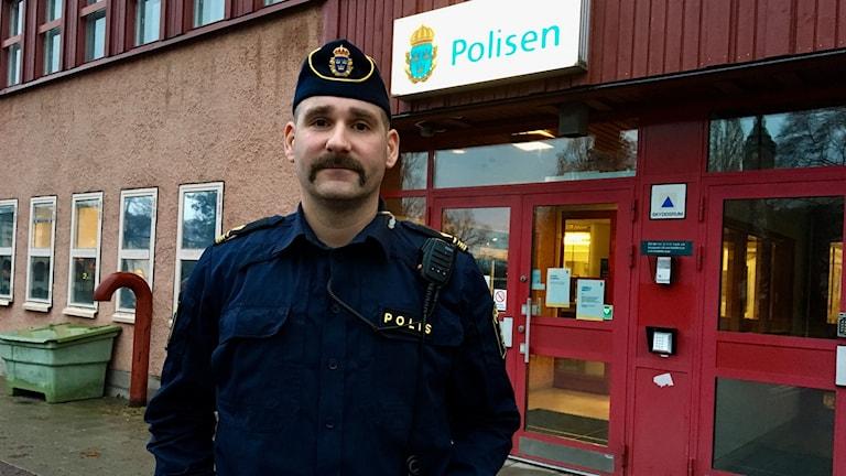 Björn Borg gruppchef Motala lokalpolisområde.