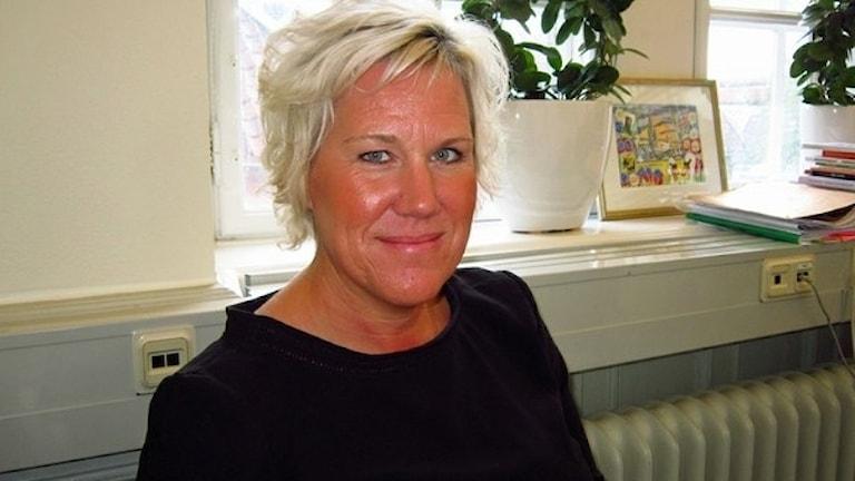 Kristina Edlund (S), kommunstyrelsens ordförande i Linköping,