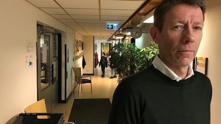 Brand på tamburinens skola i Klockaretorpet i norrköping