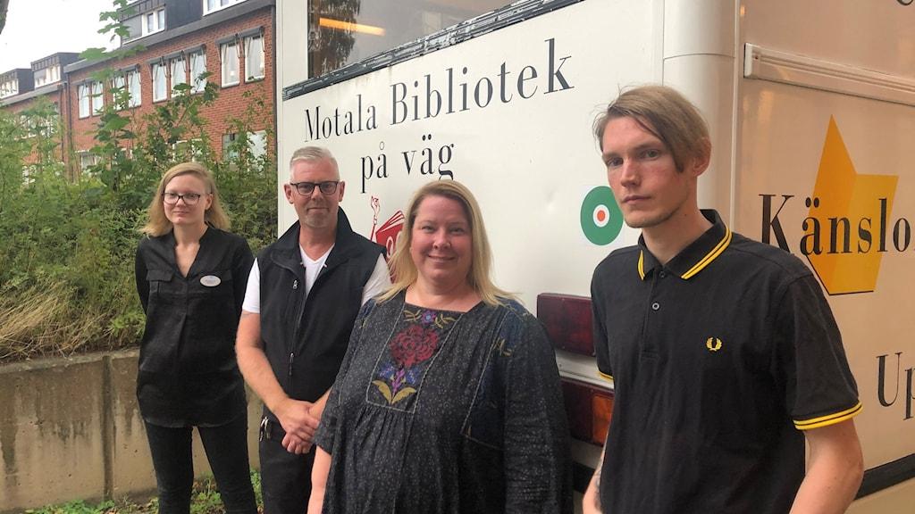 Biblioteksbussen i Motala