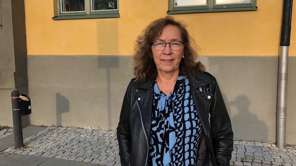 Mia Nylander, rektor på Vrinneviskolan i Norrköping