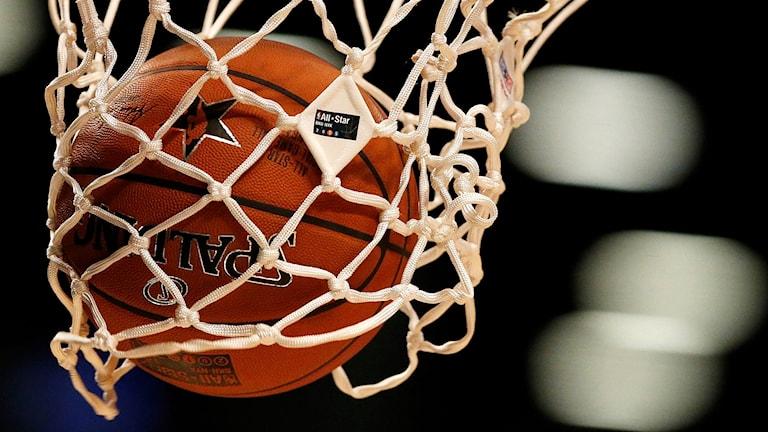 Basketboll. Arkivbild: Julio Cortez/TT
