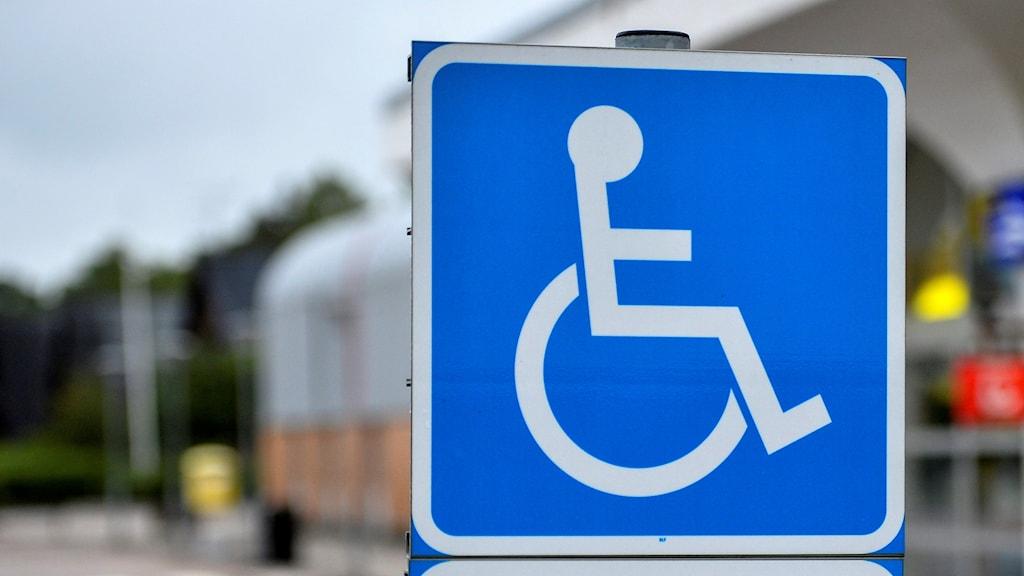 handikapparkering