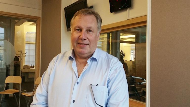 Anders Holmefur, direktor för Hjärta till Hjärta i Linköping.