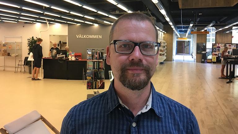 Tommy Jansson/Bibliotekarie Norrköpings stadsbibliotek