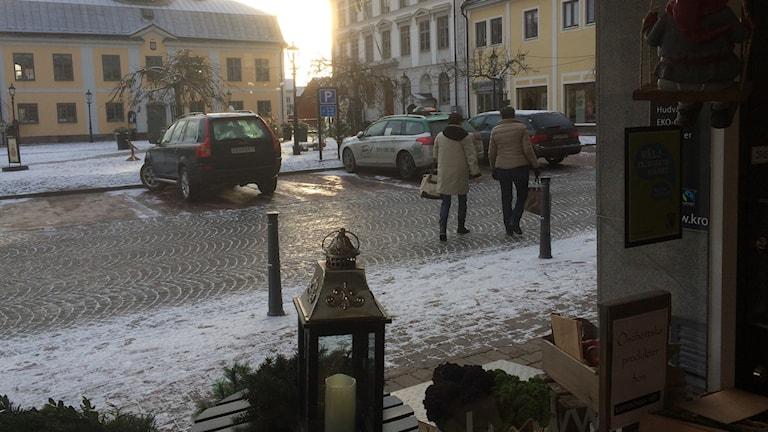 Rådhustorget i Söderköping.