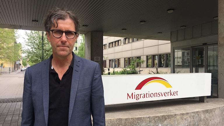 Jonas Doll expert på mottagningsstöd och etablering Migrationsverket