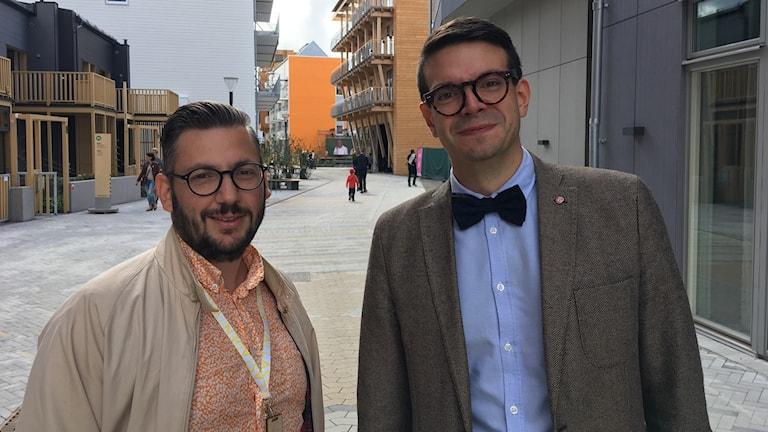 Muharrem Demirok (C) och Elias Aguirre (S)
