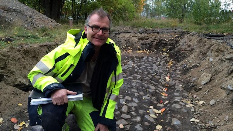 Magnus Stibéus, arkeolog
