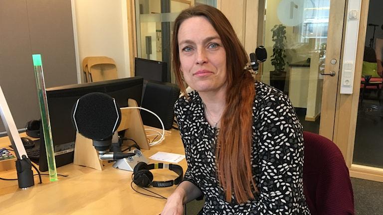 Nina Sjöberg, kyrkohistoriker.