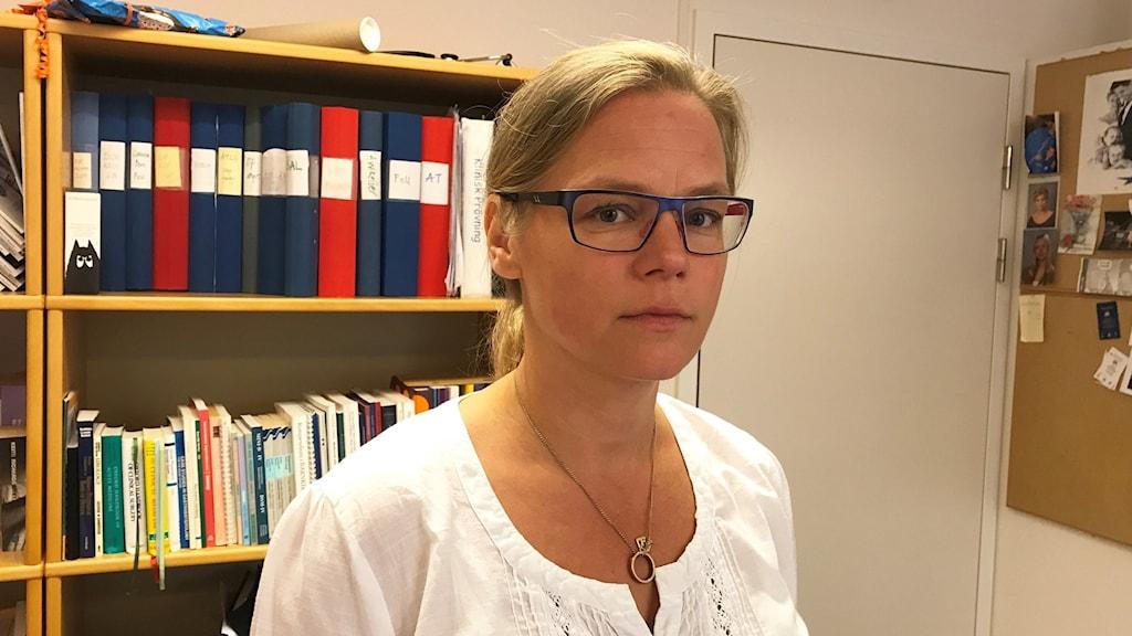 Jessica Frisk, vårddirektör vid Region Östergötland.