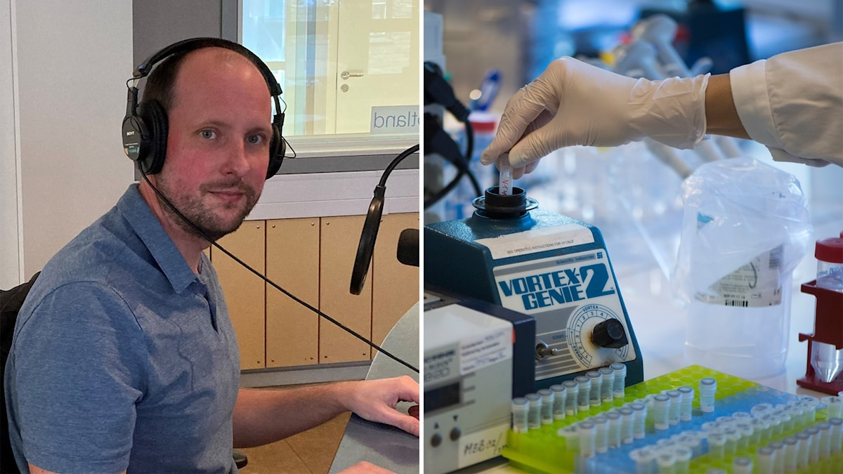 Johan Nordgren, docent i medicinsk mikrobiologi vid Linköpings universitet.