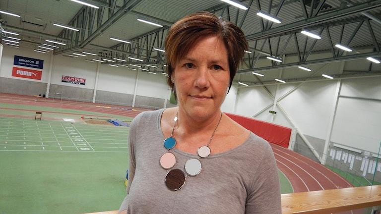 Pia Carlsson i Campushallen i Linköping.