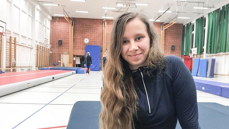 My Isoniemi ledare vid Norrköpings gymnastikförening