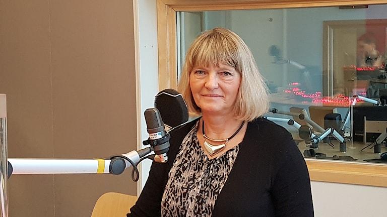 Lena Sjöberg som är tandläkare och ordförande i organisationen Tandvård mot tobak.