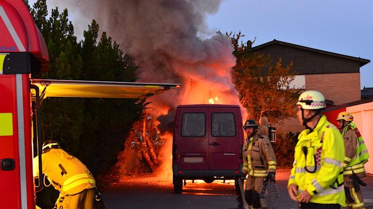 Bilbranden i Klockaretorpet