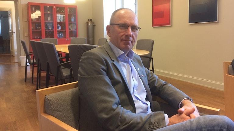 Olle Johansson (S), utbildningsnämndens ordförande i Norrköping.