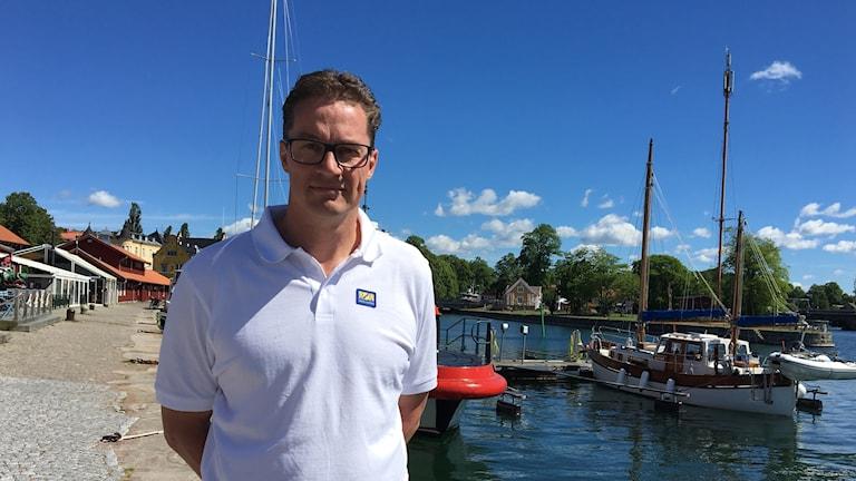 Roger Altsäter, VD Göta kanalbolag.