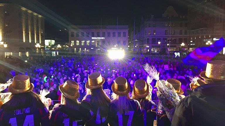 LFC, SM-guld, svebska mästare, allsvenskan, damallsvenskan.