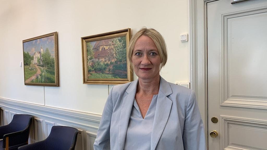 Liselotte Fager, ordförande äldrenämnden Linköping