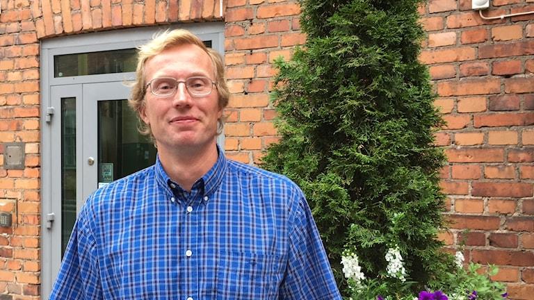 Ulric Nilsson, centerpartist och ordförande i byalaget i Östra Ryd