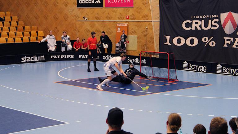 Linköping mot Helsingborg i Superligan i innebandy