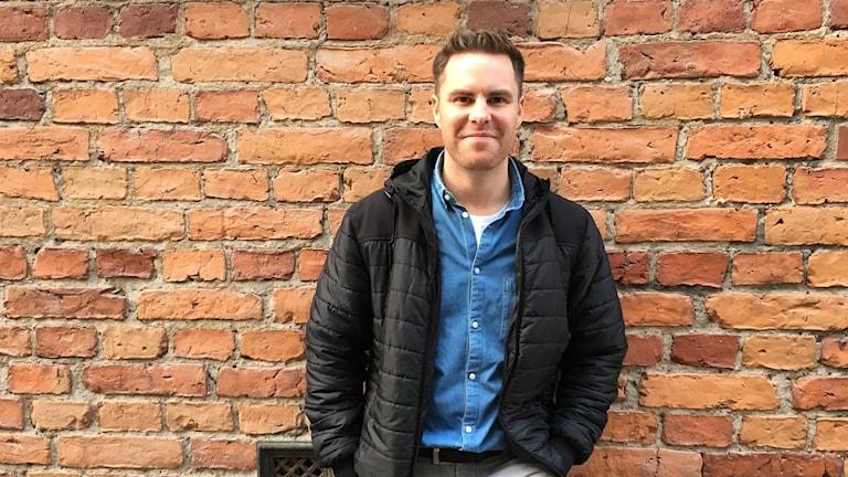 Adam Svensson, sångare i bandet Highlights från Norrköping som nu också påbörjat en solokarriär.